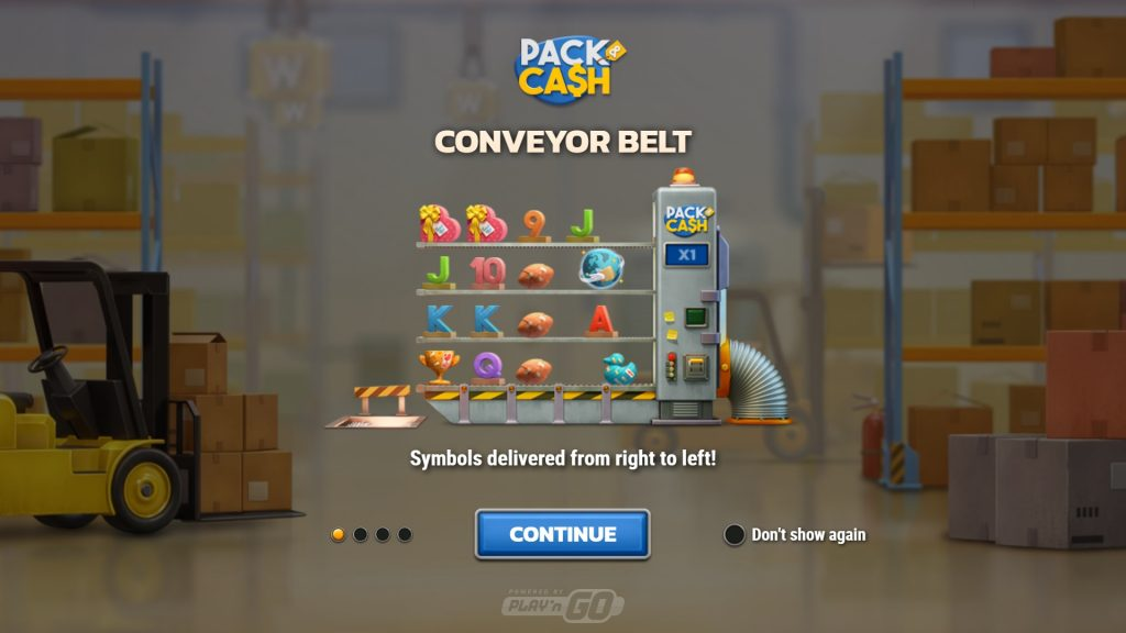 Pack And Cash game