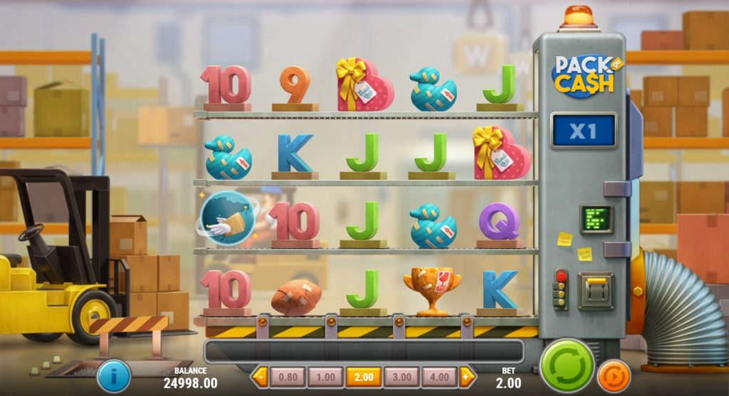 Pack And Cash Slot